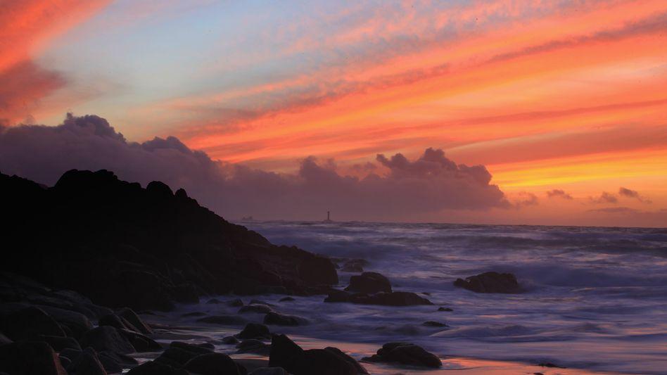 Englands Südwestküste: Der Golfstrom sorgt hier für meist milde Winter