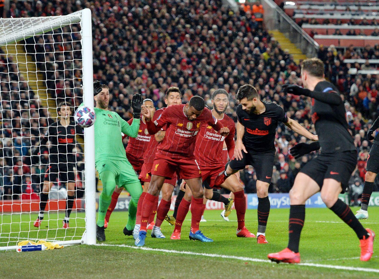 Liverpool FC vs Atletico Madrid, United Kingdom - 11 Mar 2020