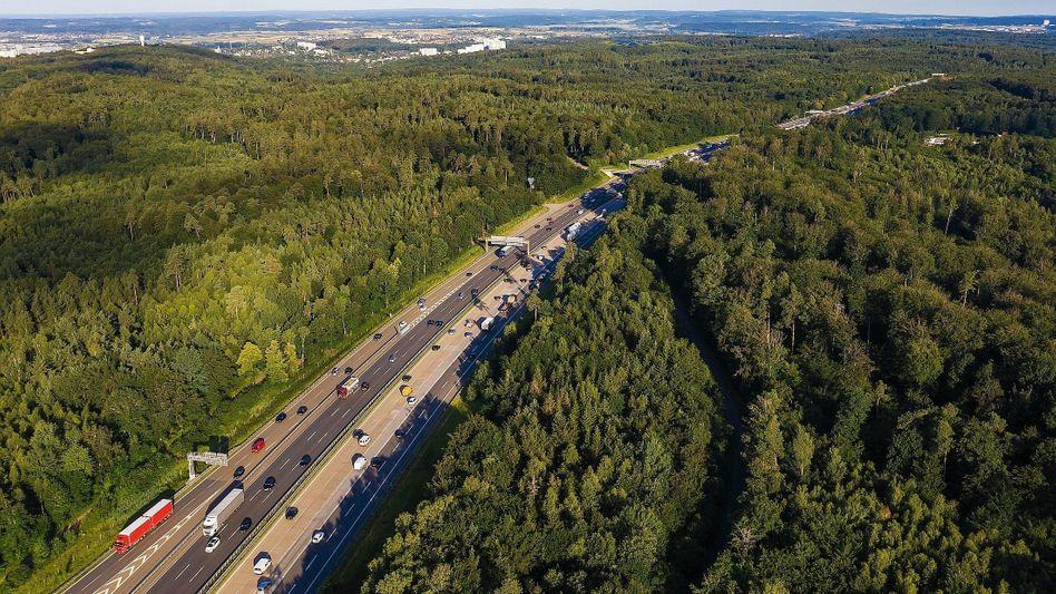 Bundesautobahn in Baden-Württemberg: Deutscher Mythos als neues Symbol für die Zerstörung der Umwelt