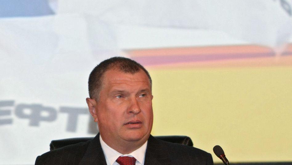 """Rosneft-Chef Igor Setschin (Archivbild): """"Sanktionen sind eine Art von Krieg"""""""