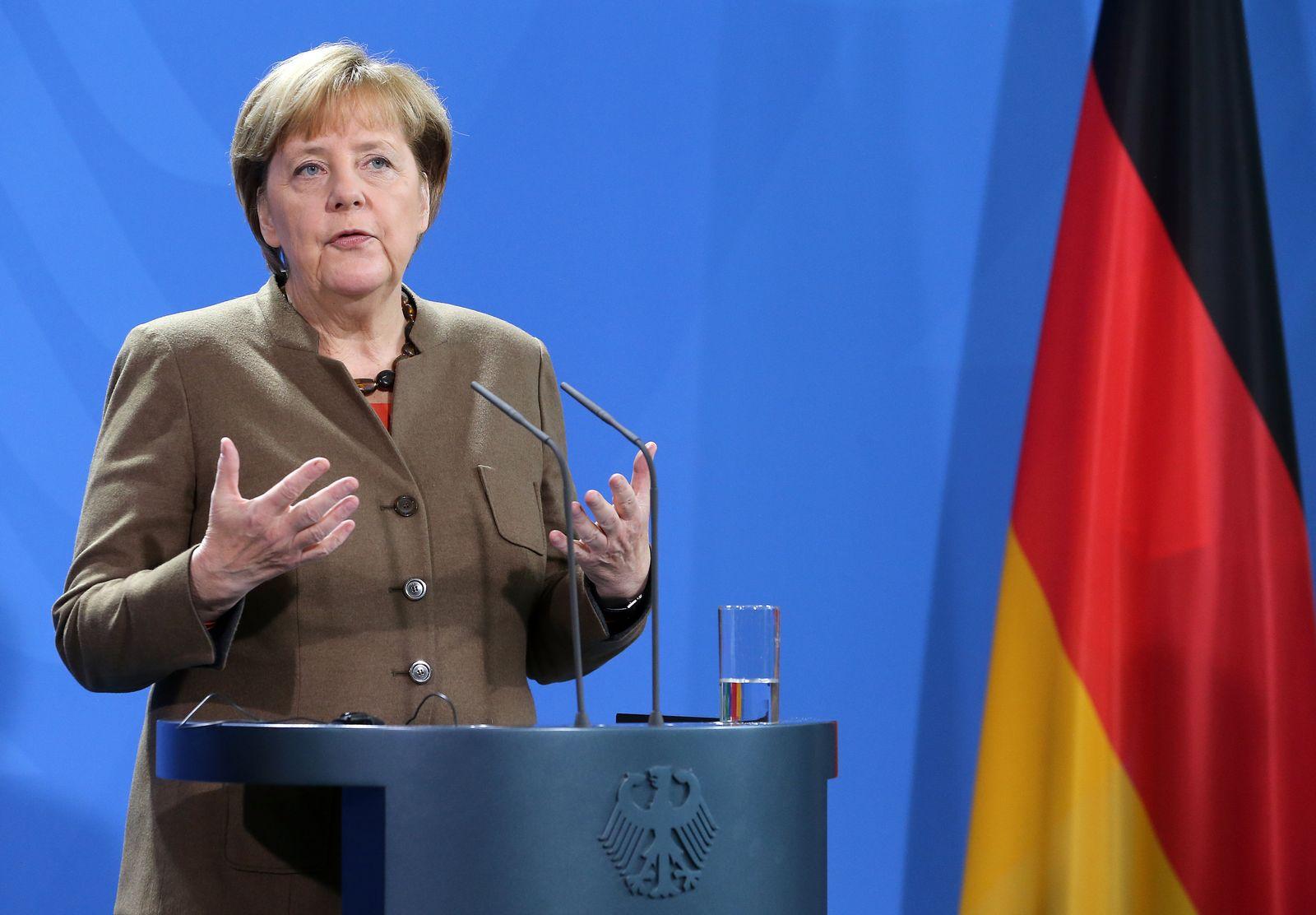 Merkel empfängt Jacob Zuma