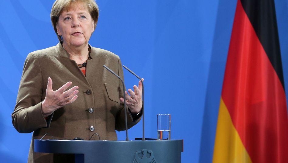 Angela Merkel: Die Kanzlerin steht in den eigenen Reihen in der Kritik