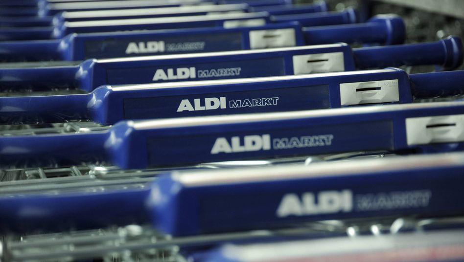 Aldi-Einkaufswagen: Vorreiter bei den Rabattschlachten