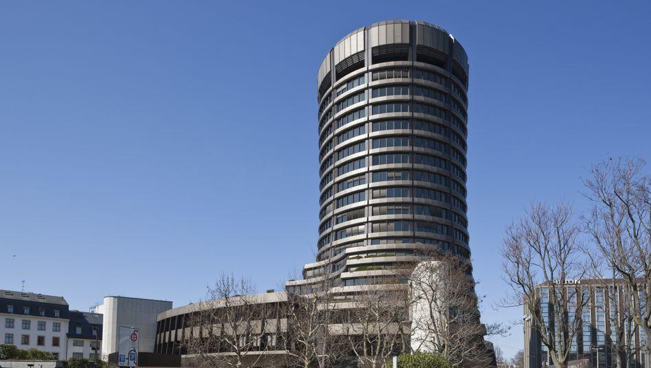 BIZ-Zentrale in Basel