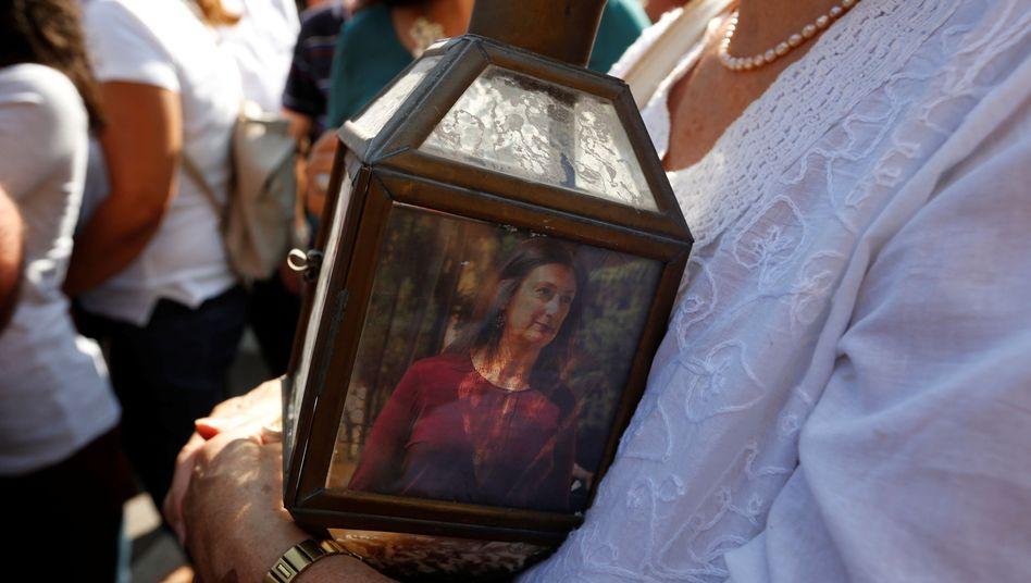 """Trauerkundgebung für Caruana Galizia am Dienstag: """"Gesetze des Dschungels"""""""