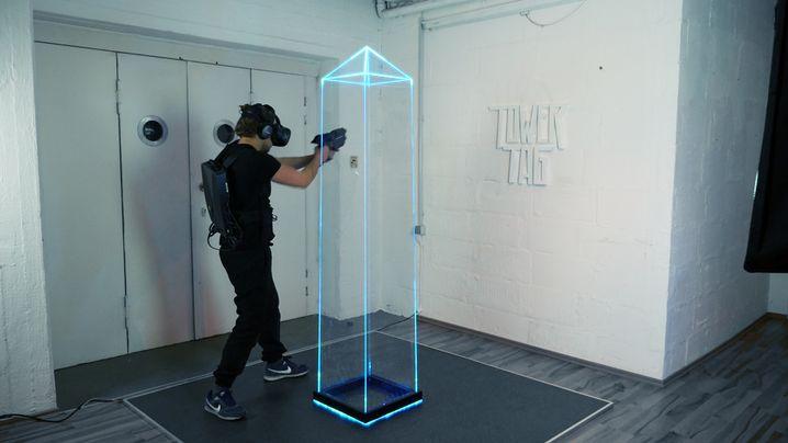 "VR-Spiel ""Tower Tag"""