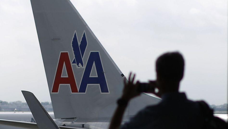 American-Airlines-Flugzeug in Chicago (Archivbild): Probleme mit den Piloten-iPads