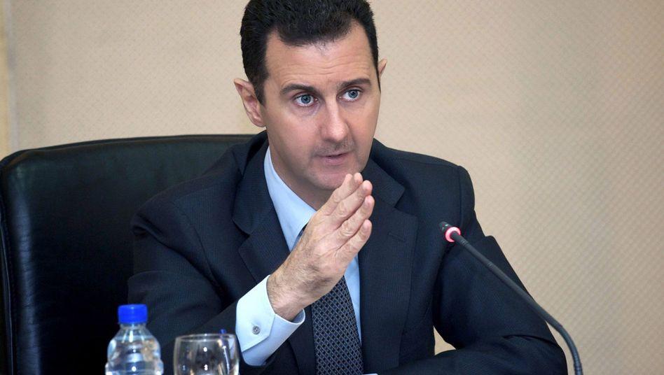 Baschar al-Assad: Warnung an den Westen