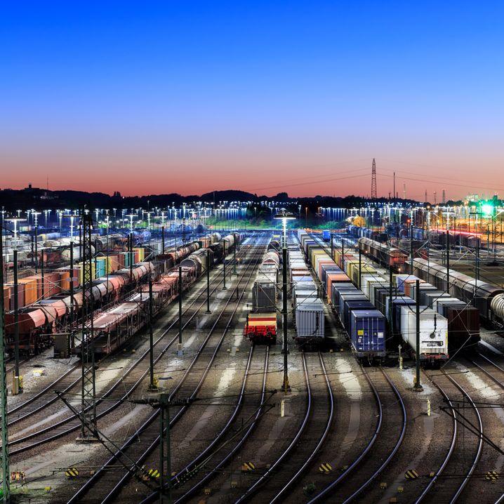 Containerbahnhof in Hamburg-Maschen (Symbolbild)