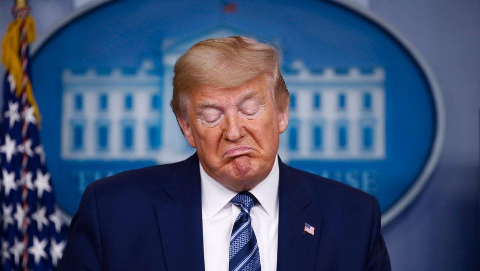 Donald Trump (Archivbild): »Was für eine Katastrophe diese Wahl war«