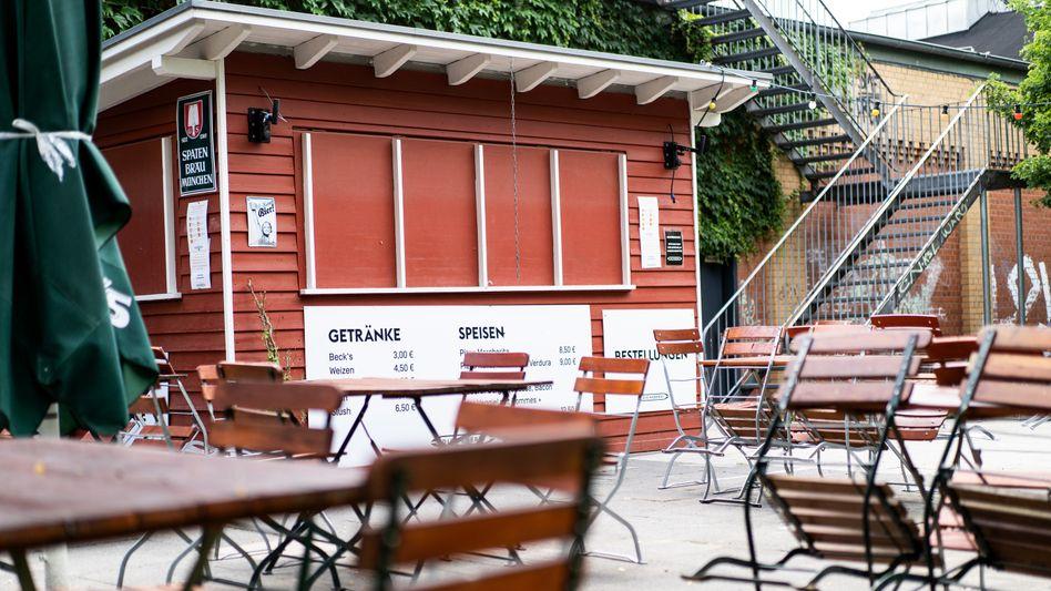 Geschlossener Kiosk in Gütersloh