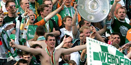 Meister Werder Bremen: Begeisterte Fans