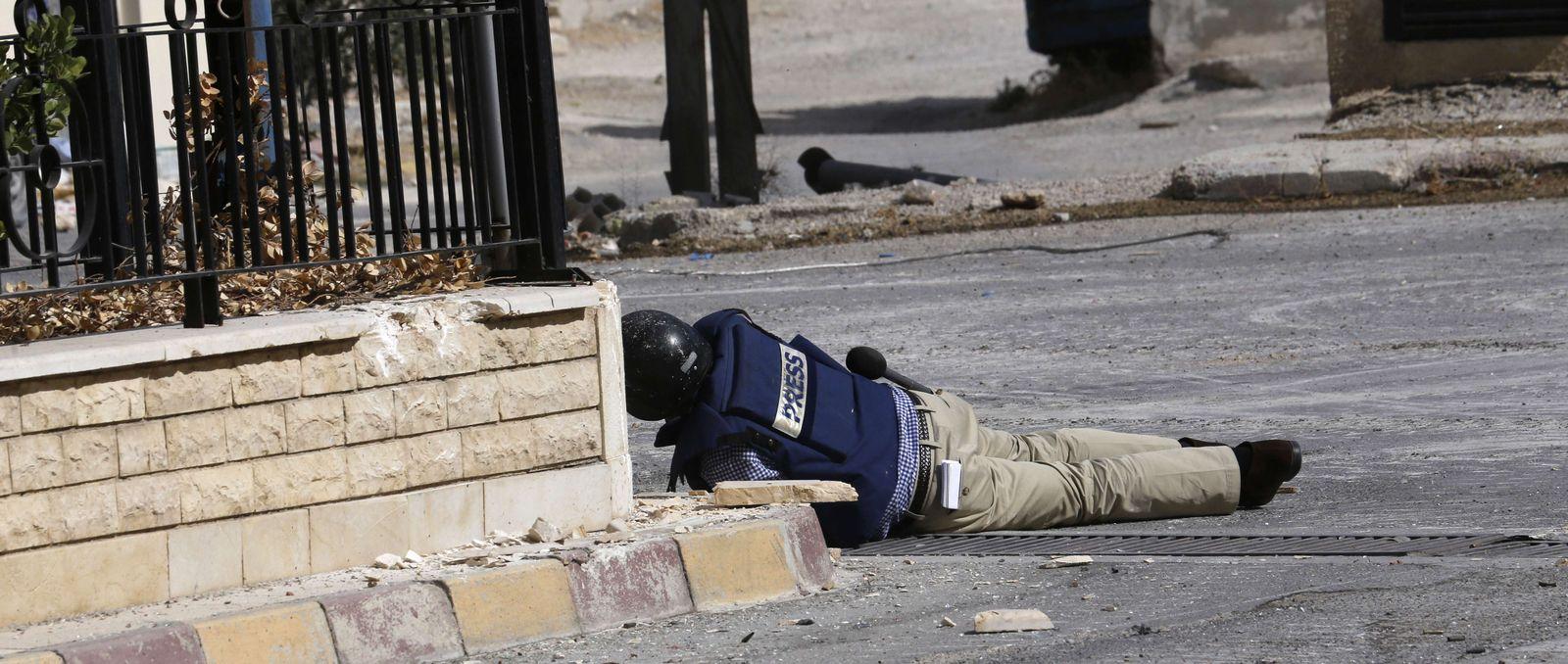 Sammy Ketz / verletzter Reporter / Syrien