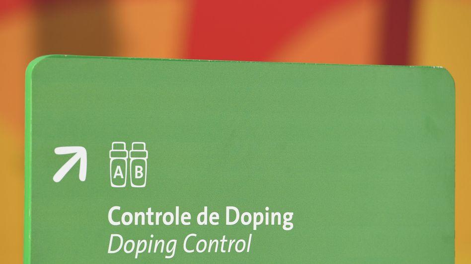 Dopingkontrolle in Rio de Janeiro