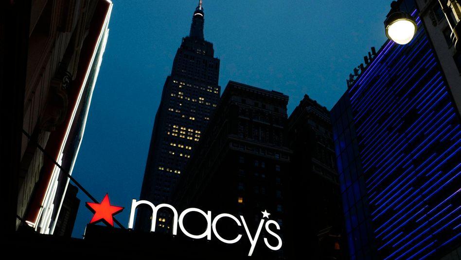 Macy's-Logo in New York