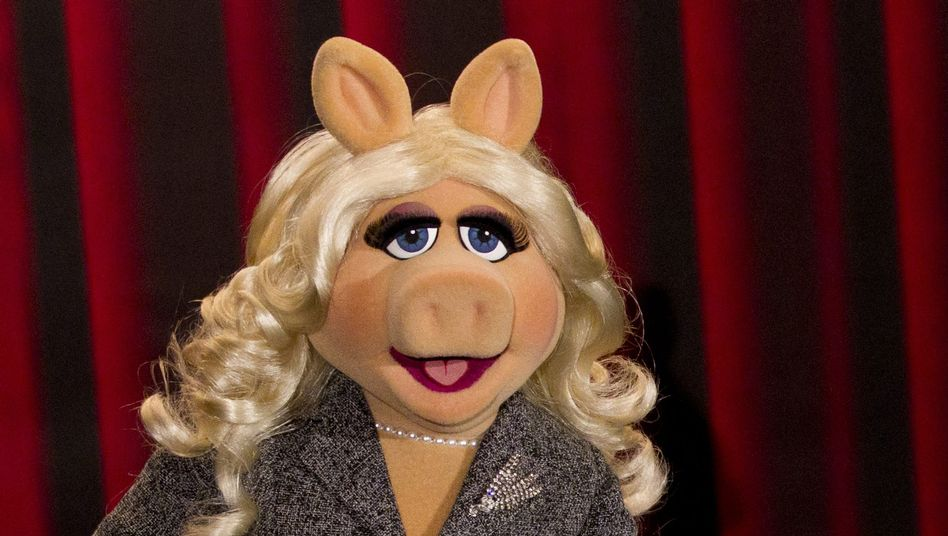 Muppet-Charakter Miss Piggy: Der Preis ehrt Frauen, die Geschlechterbarrieren durchbrechen