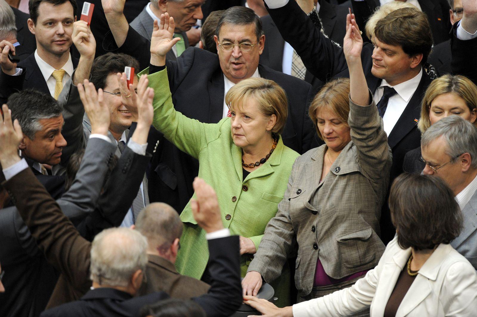 Bundestag / Euro-Rettungspaket / Abstimmung