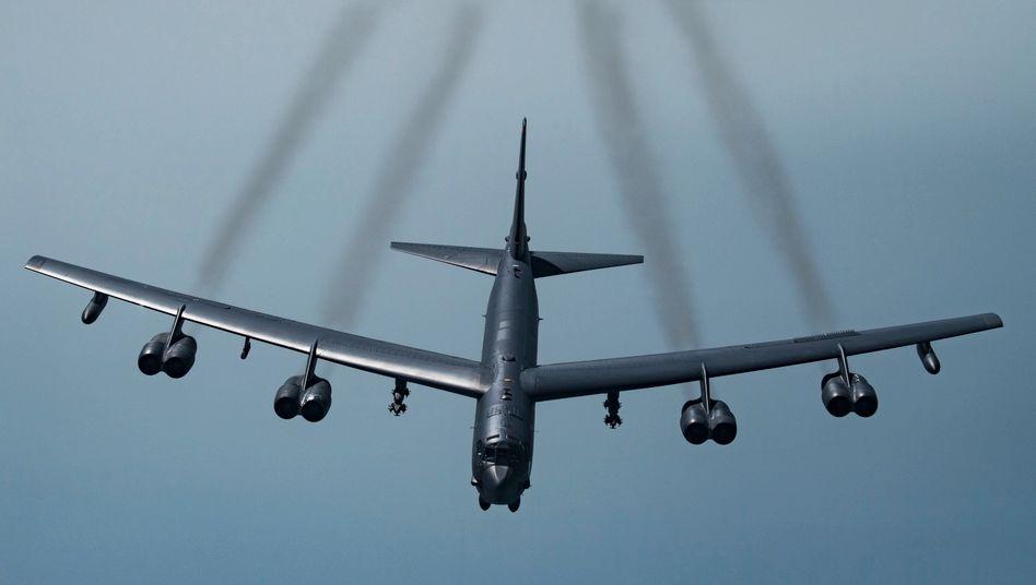 US-Langstreckenbomber vom Typ B-52H Stratofortress (Archivfoto)