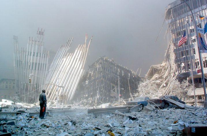 Leichengeruch, Panik, Machtlosigkeit: Trümmer des World Trade Centers im September 2001
