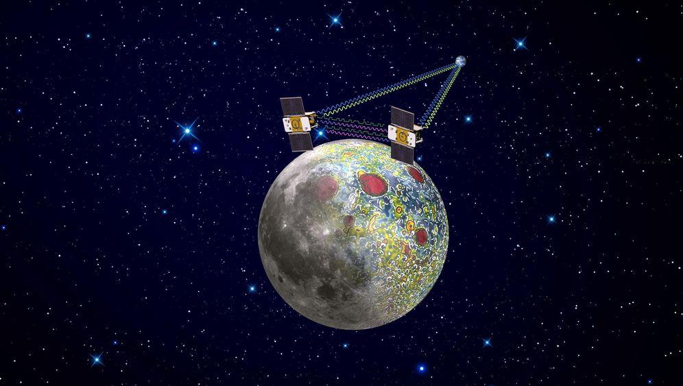 """Mission """"Grail"""": Die Neuvermessung des Mondes"""