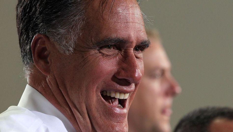 Mitt Romney: Die letzten fehlenden Stimmen holte er in Texas