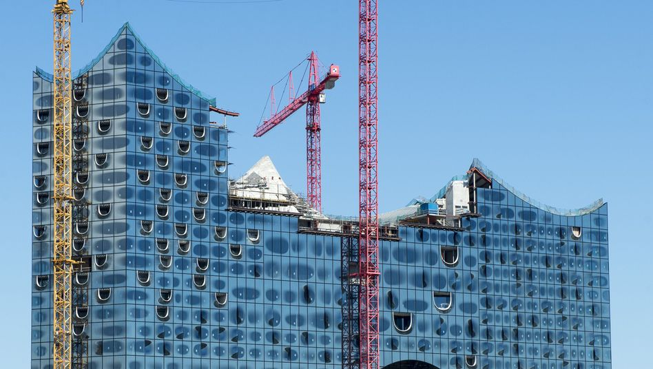 Hamburg's iconic Elbphilharmonie will cost almost double what was originally planned.