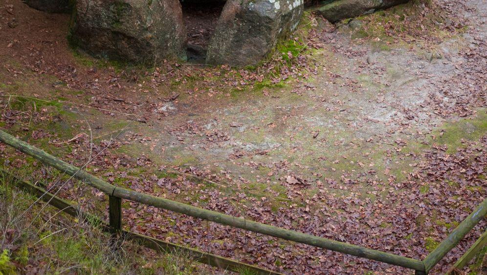 Bergen: Großsteingrab eingestürzt