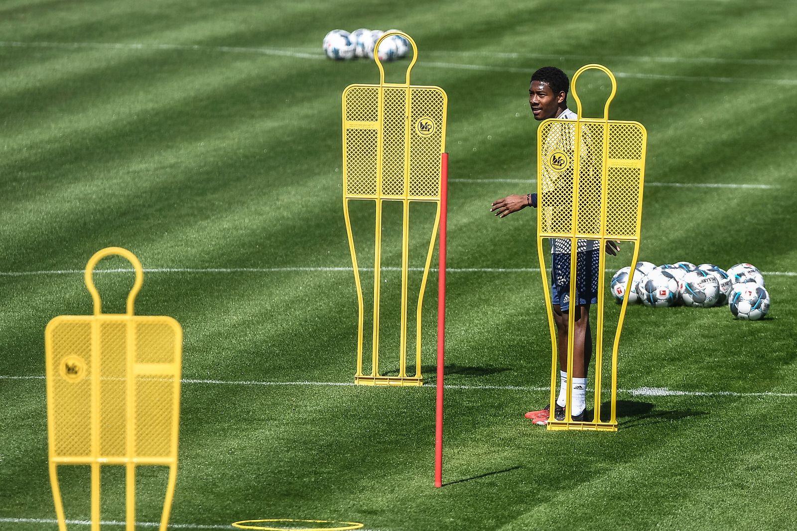 Bayern Munich training, Germany - 06 May 2020