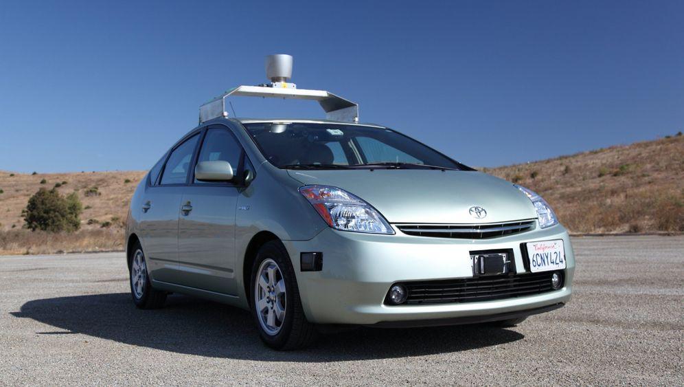 Roboter und Kamerawagen: Googles Autos-Experimente