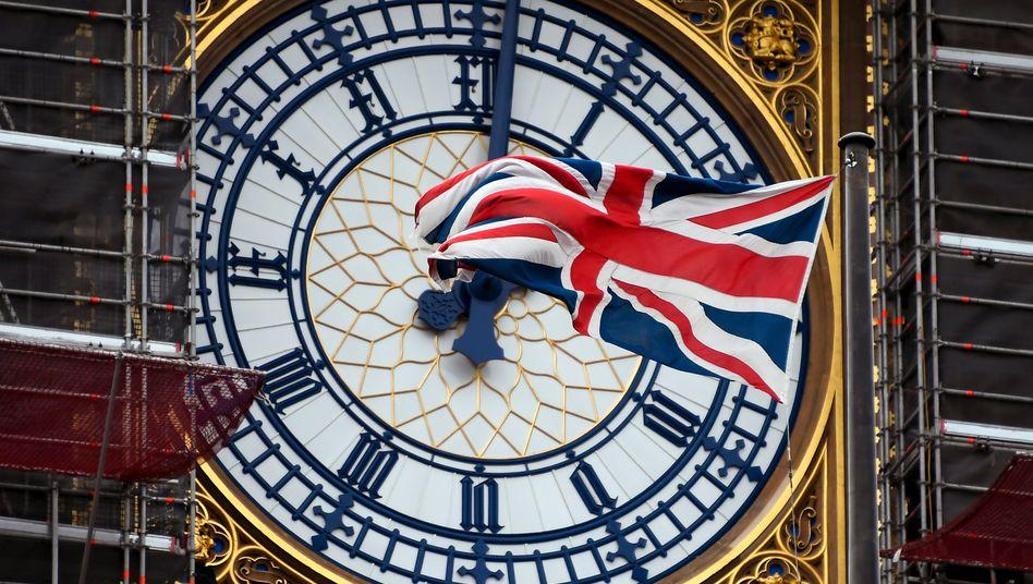 Britische Flagge: In drei Monaten endet die Übergangszeit; ohne Abkommen droht ein harter Bruch zwischen EU und Großbritannien