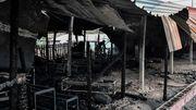 Gebäude von Schweizer Hilfsorganisation abgebrannt