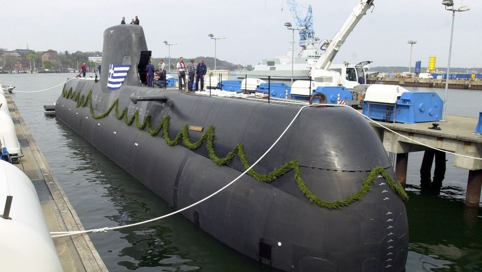 U-Boot vom Typ 214: Hunderttausende für den Mittelsmann?
