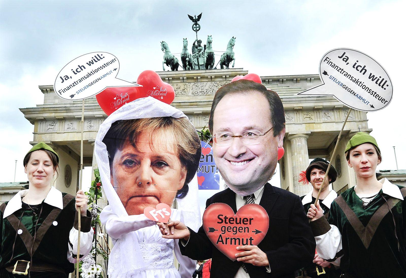 NICHT VERWENDEN Merkel Hollande