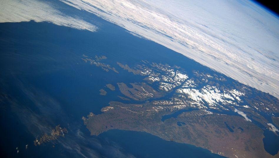 """Satellitenbild von Feuerland und Kap Hoorn: """"Klares Signal daf??r, dass menschliche Handlungen das Erdklima beeinflussen k??nnen"""""""