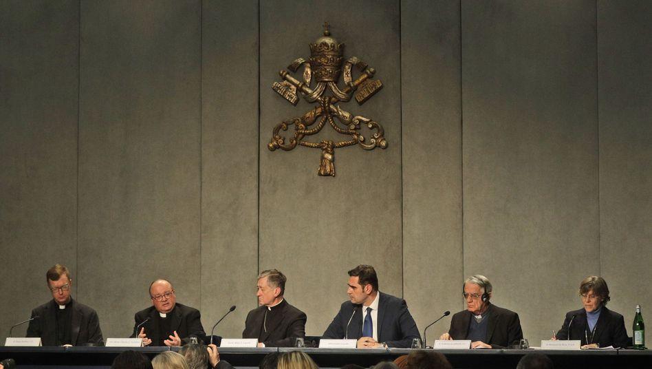Pressekonferenz vor dem Missbrauchsgipfel im Vatikan