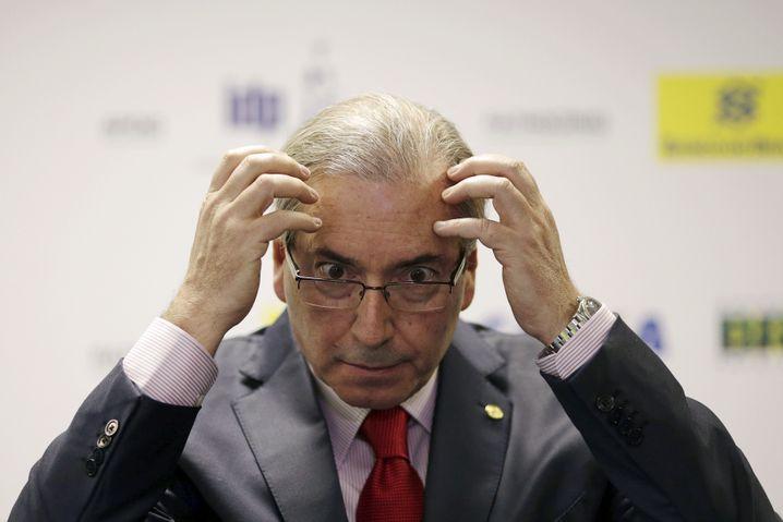 Parlamentspräsident Cunha: Belastende Kontoauszüge aus der Schweiz