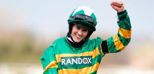 Pferderennen: Rachael Blackmore gewinnt als erste Frau das Grand National