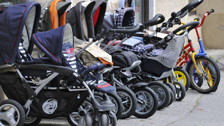 Kinderwagenflotte: Die Eltern wollen sich nicht mehr verstecken