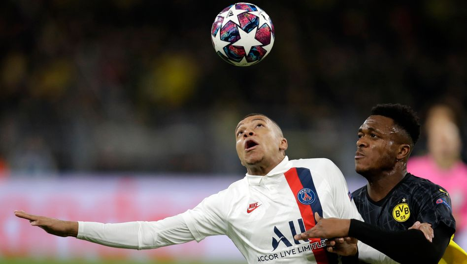 Champions-League-Achtelfinale: Haaland schießt Dortmund mit zwei Toren zu Hinspielsieg gegen PSG