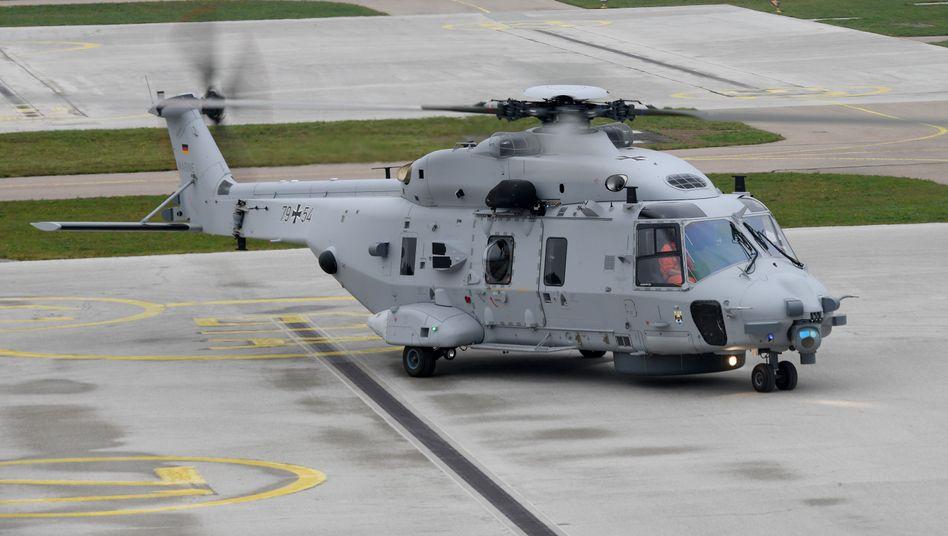 """Marinehubschrauber NH90 """"Sea Lion"""": """"Unregelmäßigkeiten"""" an 150 Stellen"""