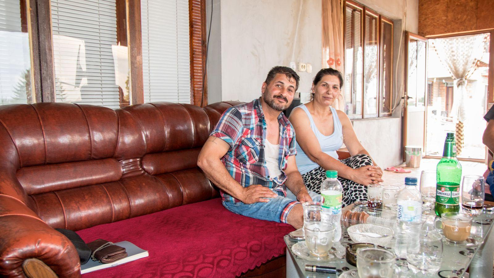 bulgarische Gastarbeiter / Auswahl