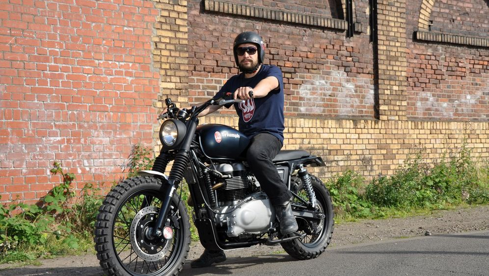 Motorraddesigner Jens vom Brauck: Klang und frei