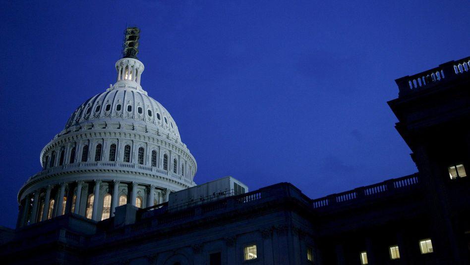US-Kapitol: Die Parteien sind komplett zerstritten