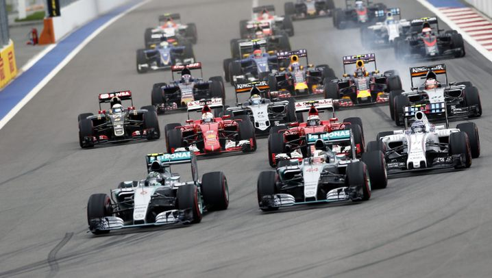 Formel 1 in Sotschi: Hamilton fast Weltmeister