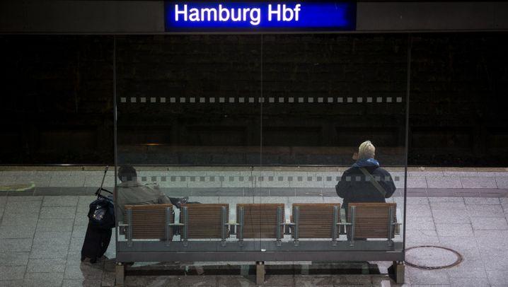 Bahnstreik: Nacht des Stillstands