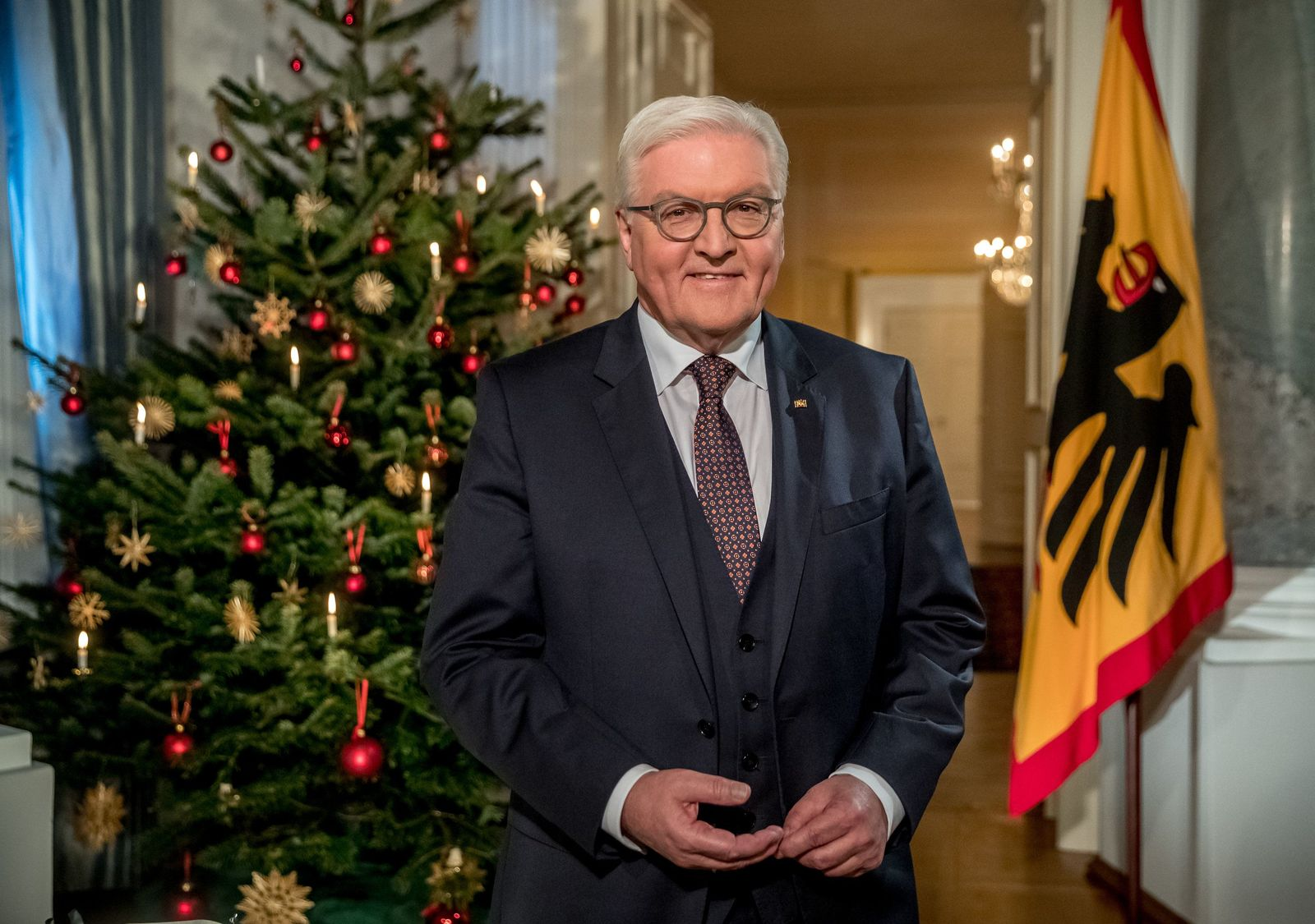 Weihnachtsansprache Bundespräsident/ Steinmeier