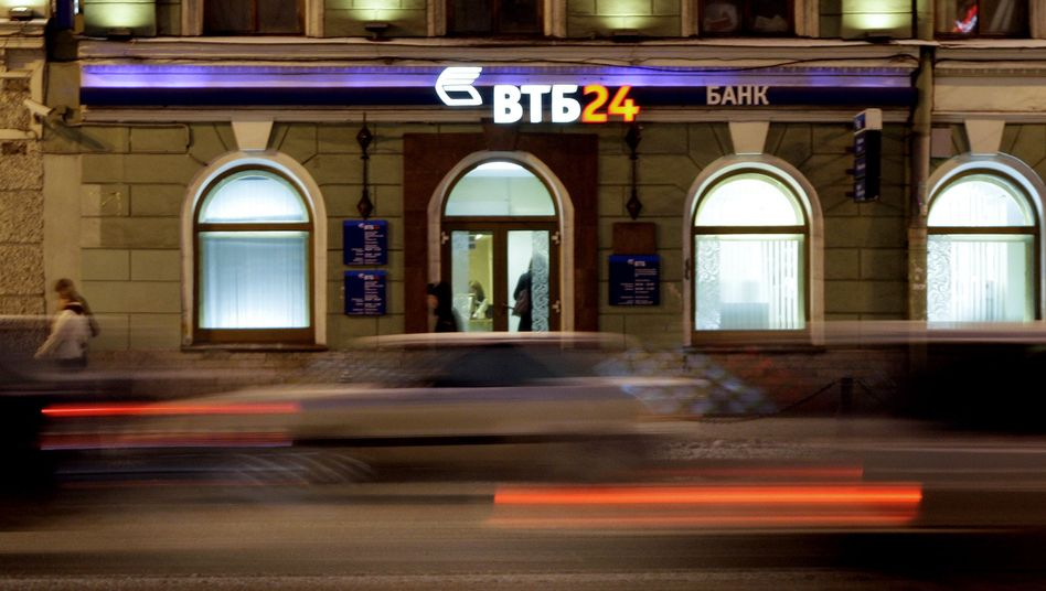 VTB Bank in St. Petersburg: Nur eine Stufe über Ramschniveau