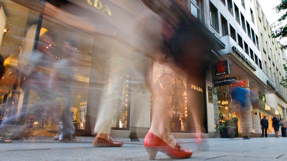 Einkaufsmeile in Düsseldorf: Weniger Geld trotz Aufschwung