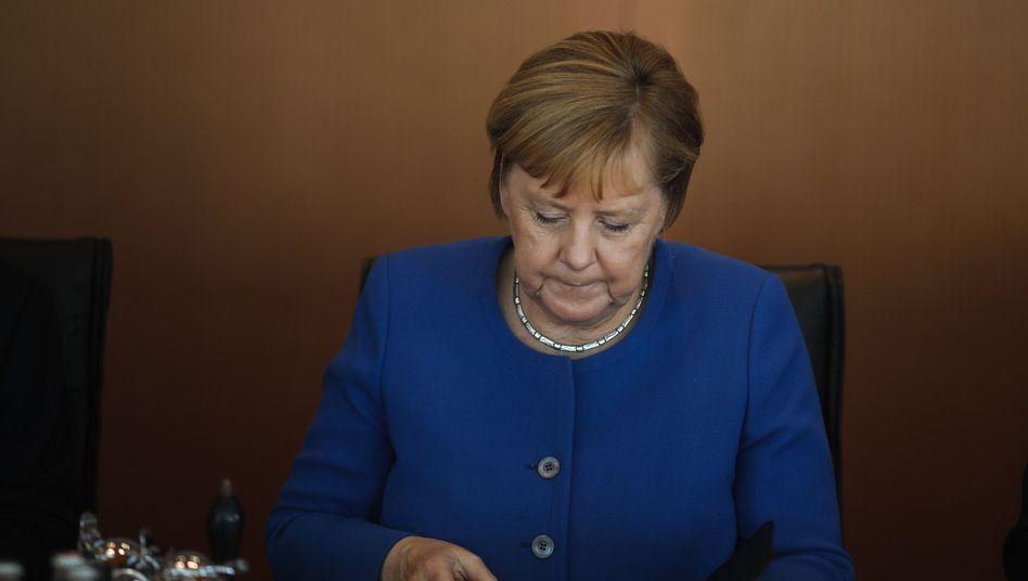 Angela Merkel: Die Kanzlerin steht im Mittelpunkt der Kritik