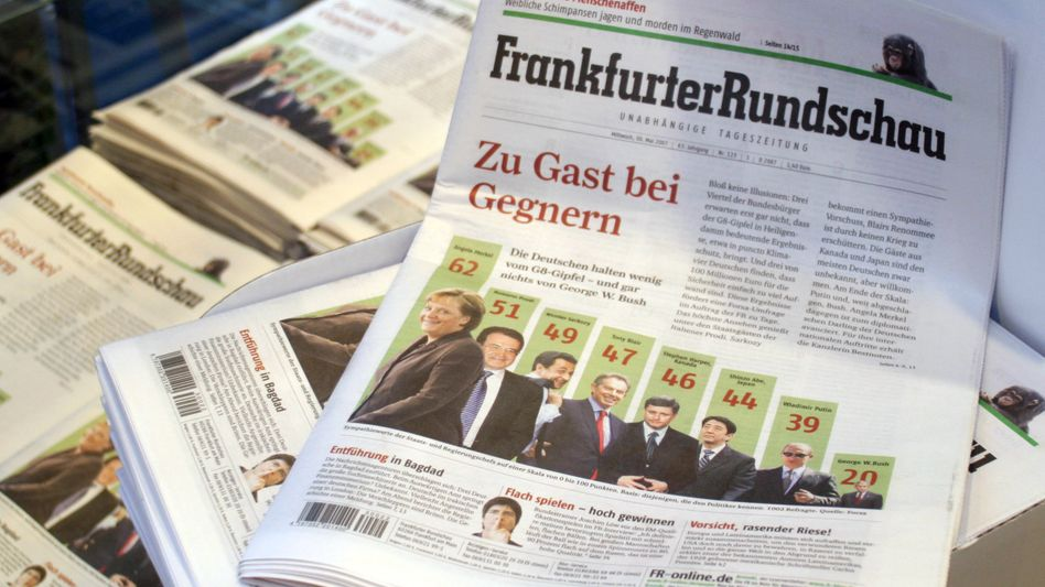 """""""Frankfurter Rundschau"""" (Archivbild): Verlag fragt Bereitschaft zum Digital-Abo ab"""